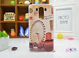 Чехол для LG G3s/D724/G3 mini панель накладка с рисунком краски, фото 8