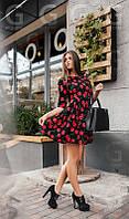Женское летнее короткое платье Cherry., фото 1