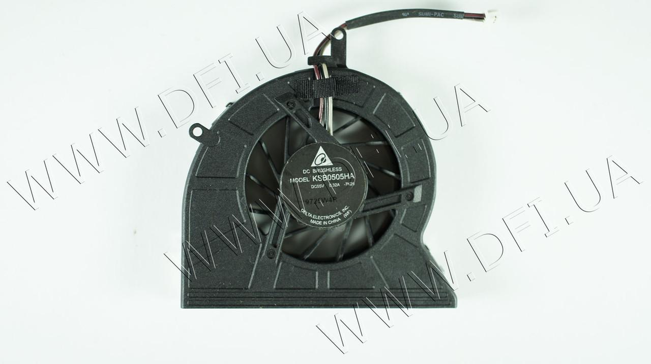 Вентилятор для ноутбука TOSHIBA Satellite M300, P300, M305, U400, U405, M800 (GB0507PGV1-A/AB7005HX-EB3 CWBU2)
