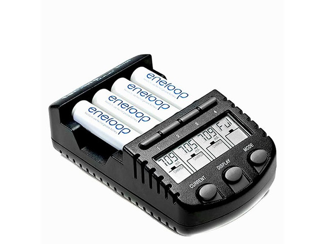 Зарядные устройства для аккумуляторов AAA, AA