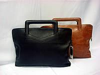 Кожаная сумка - папка