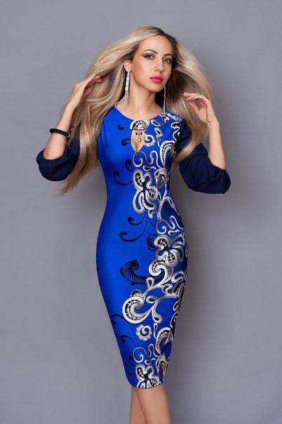 Нарядные женские платья больших размеров в расцветках  продажа, цена ... a55cae49756