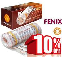 Акция! от 11 м2 подарок! Греющий мат FENIX (Чехия) Электрический теплый пол под плитку
