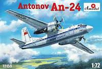 Сборная модель самолета ' AH-24 '     1\72    Amodel