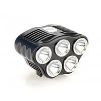 Велофара TrustFire TR-D010 (5xCree XM-L, 2880 люмен, 5 режимов, 6x18650)