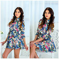 Женское шелковое платье IO-177