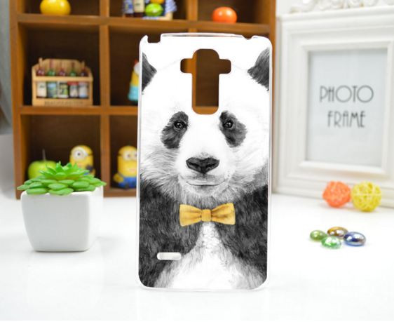 Чехол для LG G4 Stylus/H630 панель накладка с рисунком панда