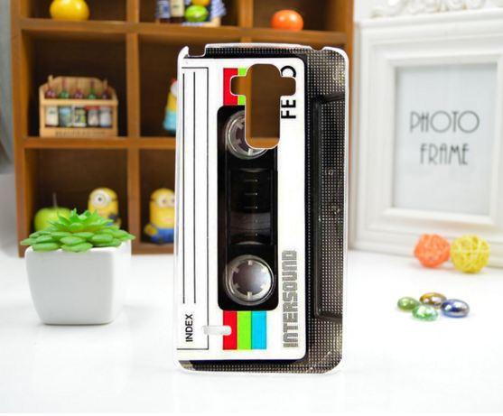 Чехол для LG G4 Stylus/H630 панель накладка с рисунком кассета