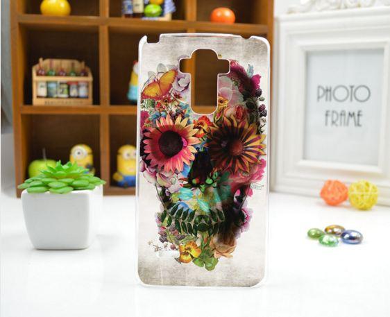 Чехол для LG G4 Stylus/H630 панель накладка с рисунком череп