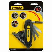 """Універсальний інструмент 14 в 1 (ніж, пилка, напилок, тримач біт, біти, головки)  STHT0-70695 Stanley // Универсальный инструмент """"14 в 1"""" (нож,"""