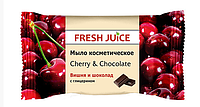 Мыло для рук Fresh Juice Вишня и шоколад 75 г