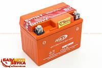 "Аккумуляторная батарея Мото 12В  4 А ""H&T"" с электролитом (YTX4L-BS)"