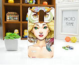 Чехол для LG G4 Stylus/H630 панель накладка с рисунком панда, фото 5