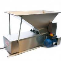 Электродробилка с гребнеотделителем, из нержавеющей стали 1000*500 мм,, емк. 45 кг, Италия