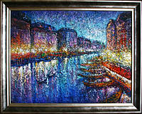 Картина Венеция «Большой канал ночью» картины для спальни