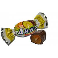 Дыня  в шоколаде с грецким орехом