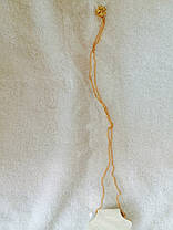 Кулон на цепочке Клевер маленький, фото 2
