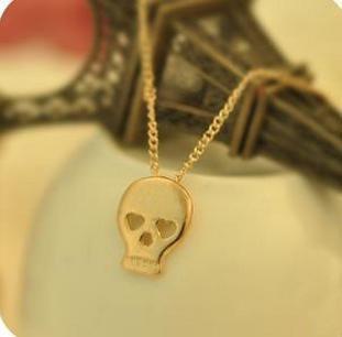 Кулон на цепочке Skull