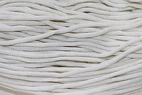 Шнур 6мм ак. гладкий (100м) белый , фото 1