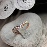 Кольцо со стразами Ihr Herz