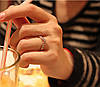Кольцо со стразами Ihr Herz, фото 3