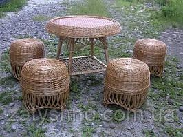Плетеная мебель из лозы для балкона и лоджии