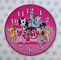 Часы настенные Литл Пони