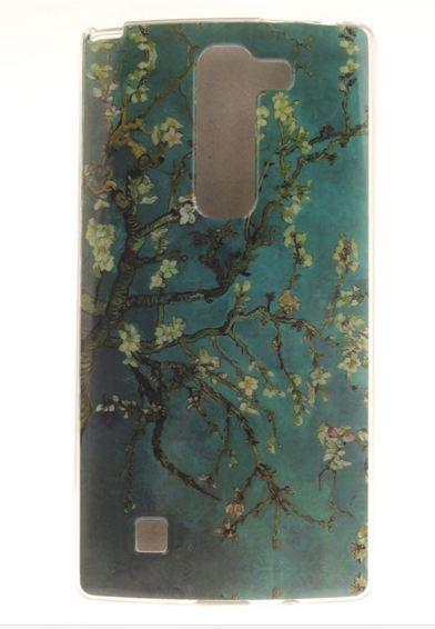 Чехол для LG G4c панель накладка с рисунком сакура