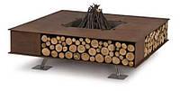 Toast  Metall (Облицовка: Металл) - Уличный дровяной гриль-камин. Италия., фото 1