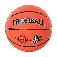 Мяч баскетбольный PROFIBALL, резина, VA-0001