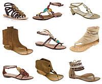 Сандалии, босоножки, балетки, туфли