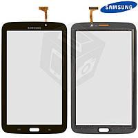 Touchscreen (сенсорный экран) для Samsung Galaxy Tab 3 7.0 T2100, T2110, Wi-Fi, бронзовый, оригинал