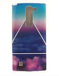 Чехол для LG G4c панель накладка с рисунком узоры, фото 5