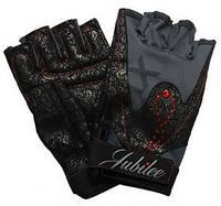 Женские перчатки для фитнеса и бодибилдинга MadMax Jubilee Swarovski MFG 740