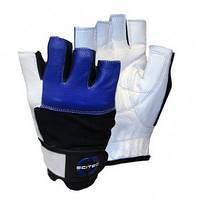 Перчатки для фитнеса и бодибилдинга Scitec nutrition Blue Style