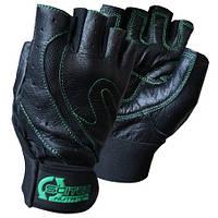 Перчатки для фитнеса и бодибилдинга Scitec Nutrition Green Style