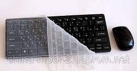 Беспроводная мини-клавиатура для ПК k03(в стиле Apple)+ мышь + чехол - 2.4 G , фото 2