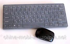Беспроводная мини-клавиатура для ПК k03(в стиле Apple)+ мышь + чехол - 2.4 G , фото 3