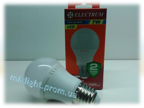 Светодиодная лампа Electrum A55 7W 2700К
