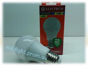 Светодиодная лампа Electrum A55 7W 2700К, фото 2
