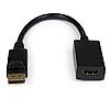 Переходник (адаптер) штекер DisplayPort- гнездо HDMI