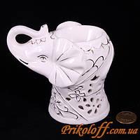 "Аромолампа ""Белый слон"", керамика"