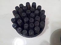 Клеймо стальное набор 6 (кириллица)