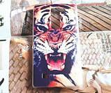 Чехол для LG G4c панель накладка с рисунком котик с рыбкой, фото 6