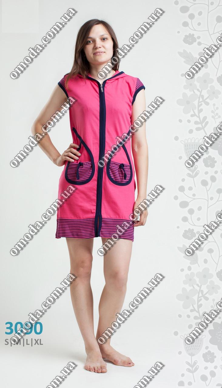 062808dc89d0 Женский летний халат малинового цвета S M L XL: продажа, цена в ...