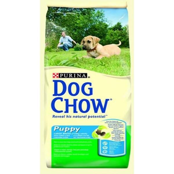 Dog Chow Puppy сухой полноценный сбалансированный корм для щенков - 14 кг