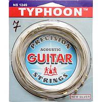 Струны Solid 7-String NS71256 Typhoon Silver Extra Light 12-56