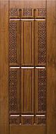 """Входная дверь для улицы """"Портала"""" (серия Элит Vinorit) ― модель R-26 Patina, фото 1"""