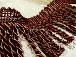 Бахрома, крученая Светло-коричневый № 34, фото 2