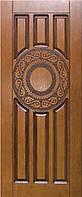 """Входная дверь для улицы """"Портала"""" (Элит Vinorit) ― модель R-36 Patina"""